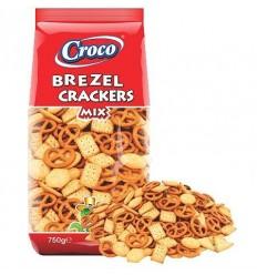 Mix Crackers & Brezel 750 g