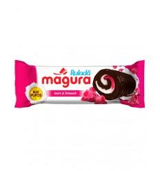 Magura Minirollito Yogur y Frambuesa