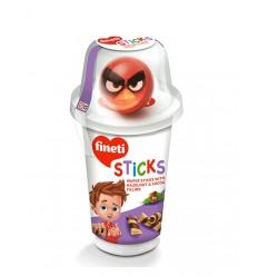 Fineti Sticks Rellenos de Crema de Avellanas 45G*8