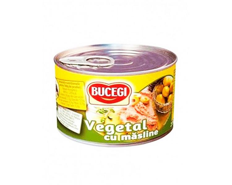 Paté Vegetal con Aceitunas Bucegi 200G
