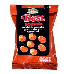 BEST CACAHUETES CARAMELO 50G/18